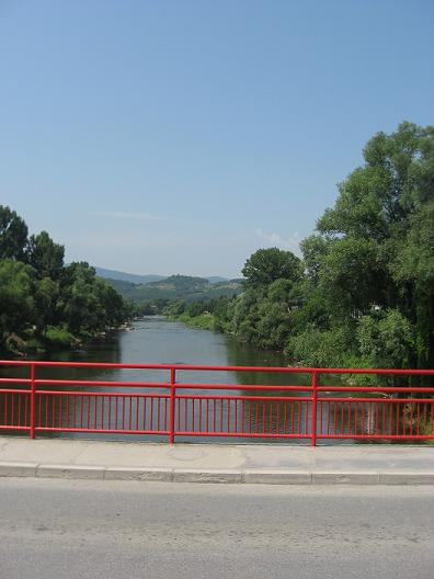 reka Bosna, sa gradskog mosta